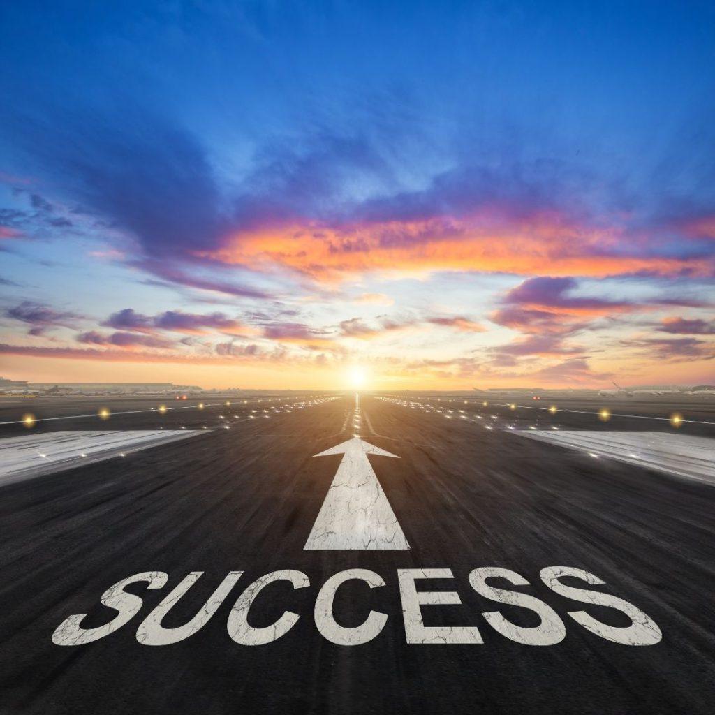 sucesso para o negócio